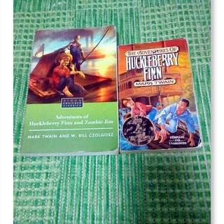 Huckleberry Finn books