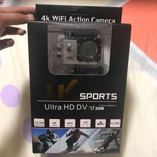 4K sports action camera