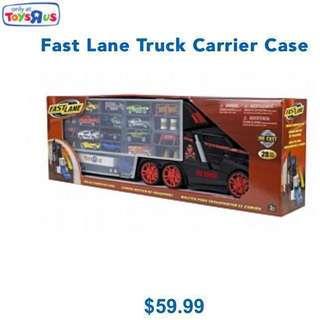 BNIB FAST LANE Truck Carrier Case