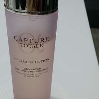 Dior totale capture serum lotion