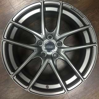 "Gunmetal 18"" Light Weight Rim"