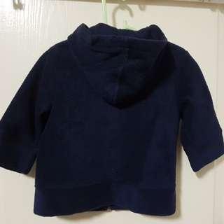 Baby/Toddler Boy Navy Blue Fleece Jacket