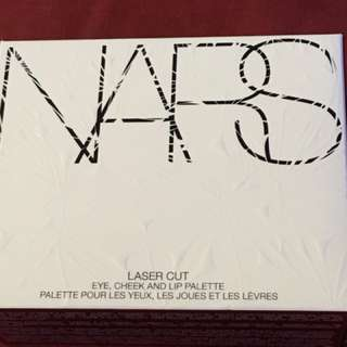 NARS laser cut eye, cheek and lip palette limited edition