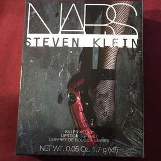 NARS Steven Klein collaboration killer HEELS lipstick coffret 5pc