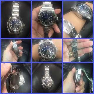 Rolex Deep Sea Blue Face