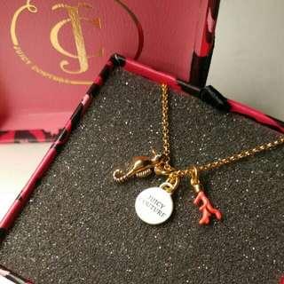 Juicy Couture seahorse necklace