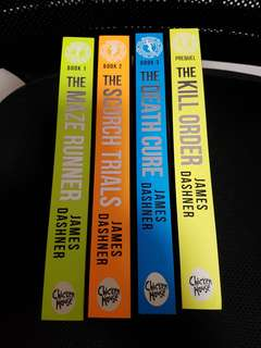 Brand New The Maze Runner Book Set