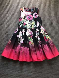 Ted Baker floral party dress