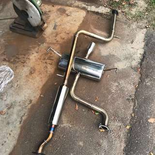 Original SuperCircuit Catback Exhaust System