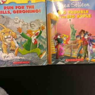 Geronimo Stilton Books,