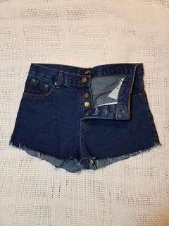 Denim shorts ladies ripped