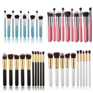 🔥READY STOCK🔥kabuki Brush 10pcs makeup brush