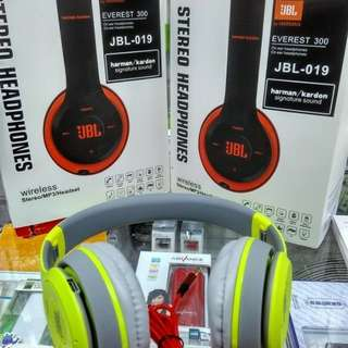 Headphone Bluetooth JBl everest 300 by harman kardon TM-019
