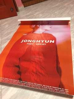 Free Jonghyun Poster