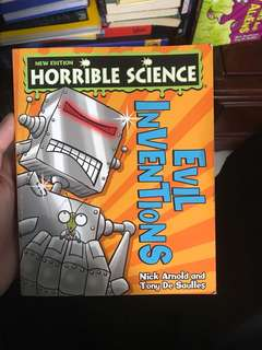 New Edition Horrible Science Evil Inventions