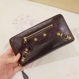 REPRICE!! Balenciaga City GHW Zipper Wallet