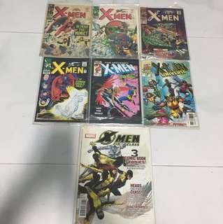 Uncanny X-men / universe related comics