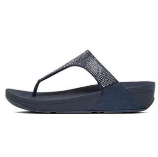 FitFlop SLINKY™  ROKKIT TOE-THONG SANDALS | Supernavy | US Women's Size 7,8,9,10 | Flip Flop Sandal Slipper