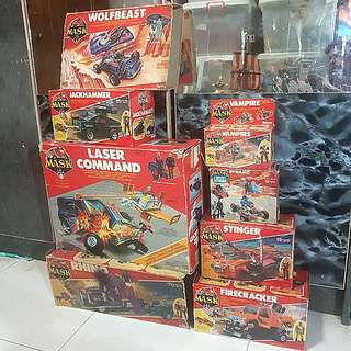 Kenner m.a.s.k empty box