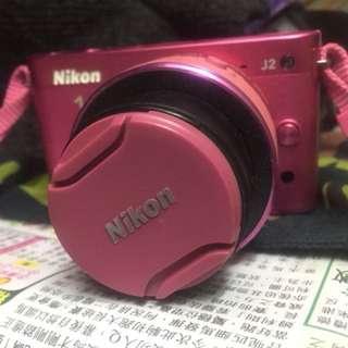 Nikon 1 J2 Camera ,pink color