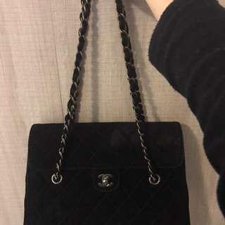Chanel vintage bag 罕有鹿皮 85% new