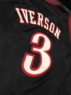 Cheap and Authentic Allen Iverson 76ers Classic Jersey