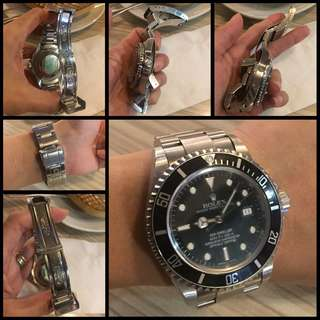 Rolex Sea Dweller 16600 D Series