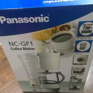 Panasonic coffee maker