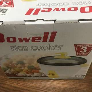Dowell Rice cooker