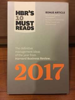 HBR's 10 Must Reads 2017