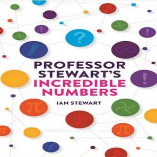 Professor Stewart's Incredible Numbers eBook