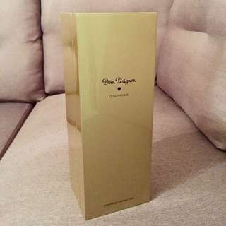 Empty Gold Presentation Box~ Commande Speciale 1982 Dom Perignon Qenotheque~ Collectors