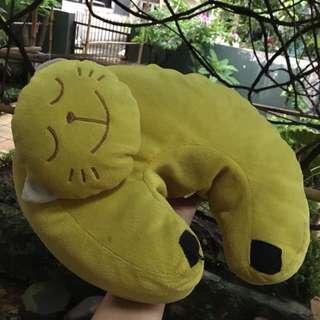 Neck Pillow Yellow