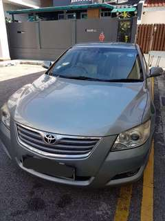 Toyota Camry 2.0A For Rent (Grab/Uber/Personal)