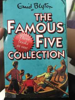 The Famous Five Collection(3booksin1)