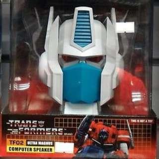 Brand new Transformers TF02 Ultra Magnus Computer Speaker