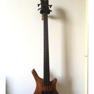 Bass Guitar Warwick Thumb Neck thru