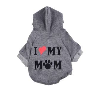 I LOVE MY MOM HOODIE FOR PETS