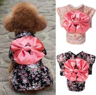 Pet Dog/Cat Kimono Clothes