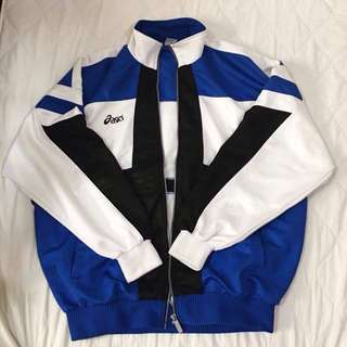 (SALE) Blue Asics Track Jacket