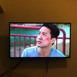 "Toshiba 43"" TV, installed on 5 Mar 2018. With 6 years warranty."