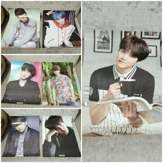 BTS SUGA UNOFFICAL POSTER