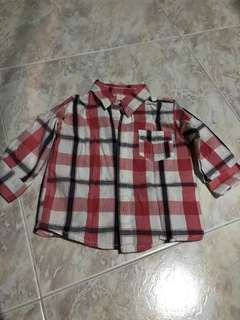 Cotton On Baby Checkered Top