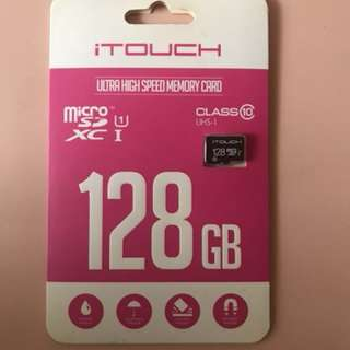 iTouch 128GB class 10 micro sd card