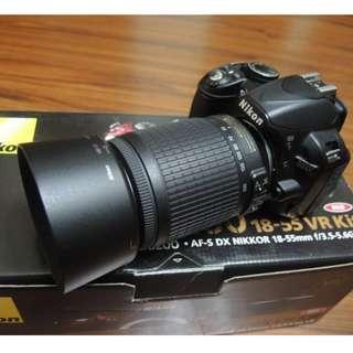 【出售】Nikon D3100 數位單眼相機 國祥公司貨