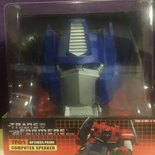Brand new Transformers TF01 Optimus Prime Computer Speaker