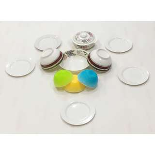 Plastic Dish Set