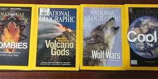 Nat Geo(4books)
