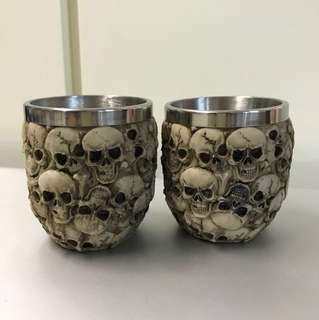 骷髏骨頭杯