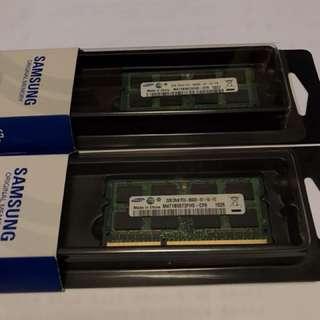 DDR3 1066 Notebook RAM, 2GBx2
